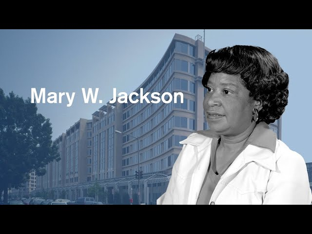 NASA ceremony to name headquarters after Hidden Figure Mary W. Jackson