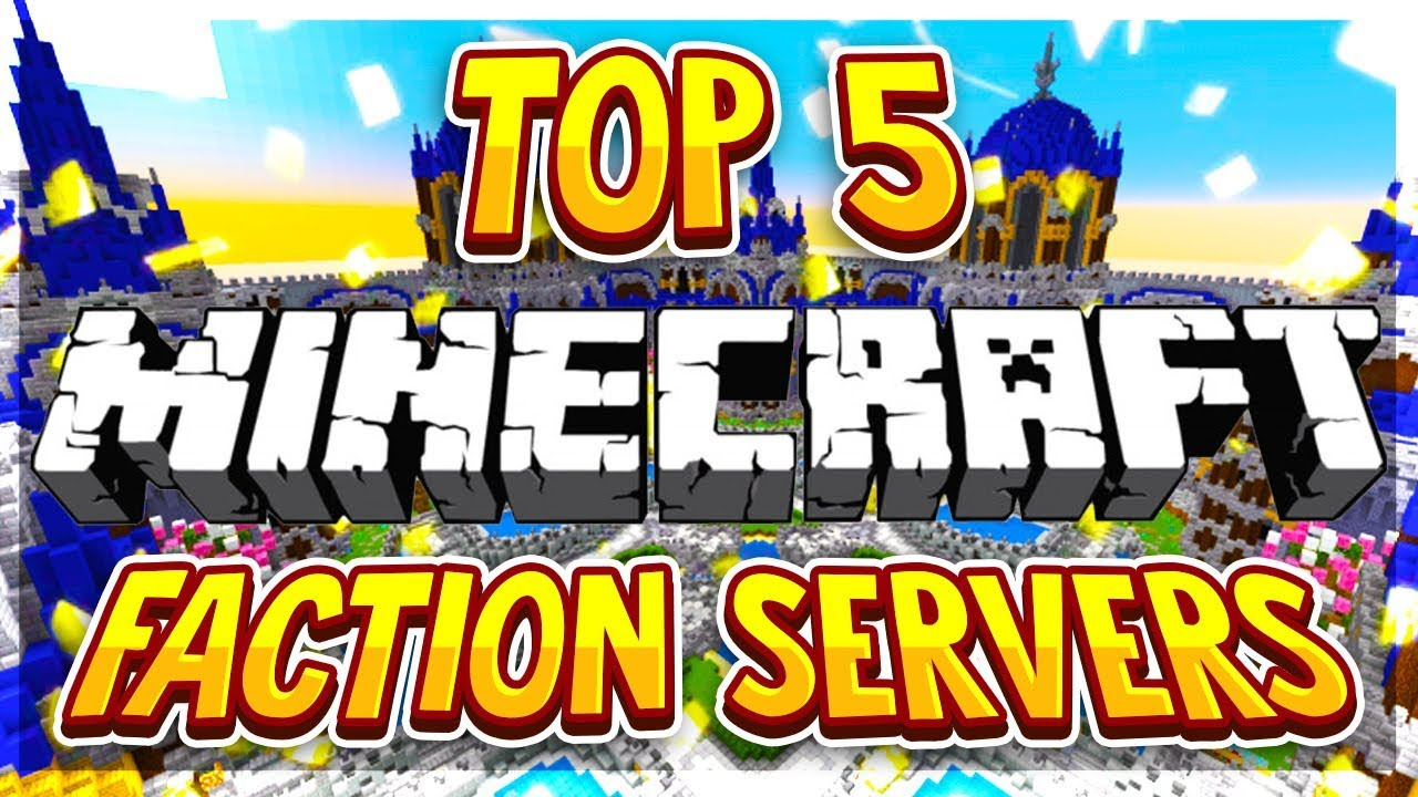Top 5 No Premium Faction Servers 1 8 1 9 1 10 1 12 1 13 1 14 1 15 2020 Hd New Minecraft Servers Youtube