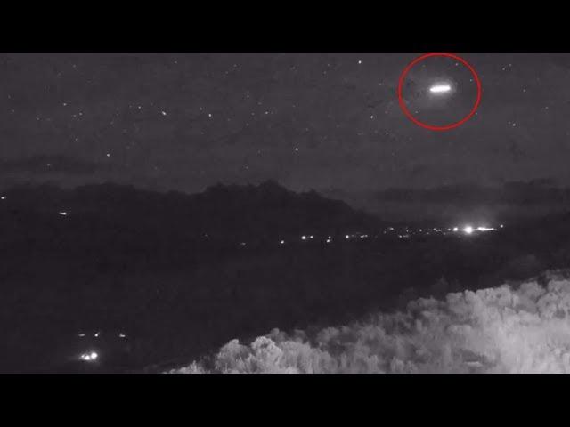 Astrónomos desconcertados por la presencia de un extraño objeto durante la lluvia de meteoros