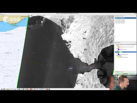 ESA Echoes in Space - Water: NRT Oil Spill mapping Example II