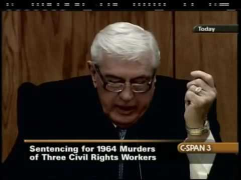 Mississippi Burning Trial: Civil Rights Workers Murders - Edgar Ray Killen Day 7 - Sentencing (2005