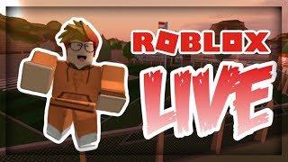ASIMO JOINED MY STREAM!! NEW JAILBREAK UPDATE!! Jailbreak, MM2, and more! Roblox Live Stream #29 !!