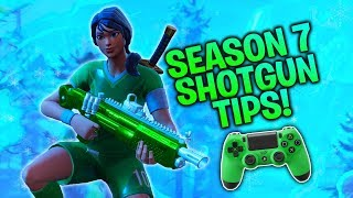 Season 7 Shotgun Tips for Controller Players! (Fortnite Console PS4/Xbox)