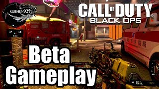 CALL OF DUTY: BLACK OPS 4 [PS4 PRO] Private Beta Gameplay