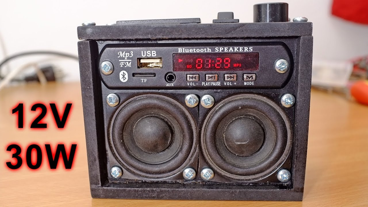 Diy Boombox And What Speakers To Use Dayton Audion Tang