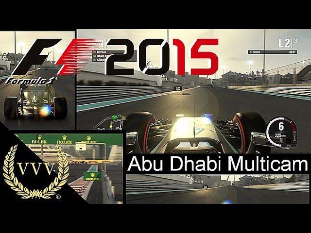 F1 2015 Abu Dhabi Multicam