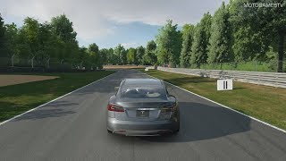 Gran Turismo Sport - Tesla Model S Signature Performance '12 Gameplay [4K PS4 Pro]