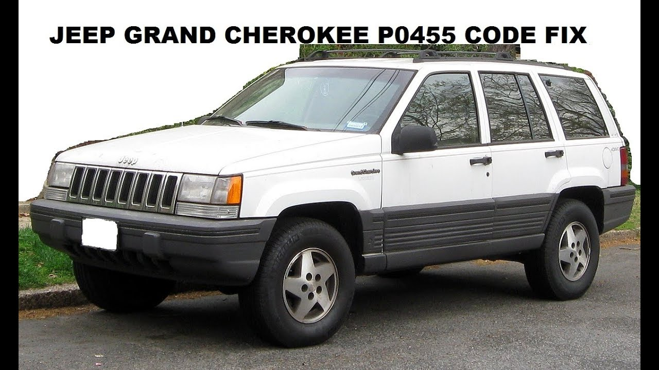 P0455 Jeep Grand Cherokee Code Fix