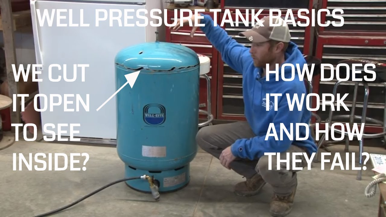 Well Pressure Tank: How it Works and How a Tank Gets Waterlogged