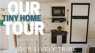 How 2 adults, 3 kids and 2 dogs live in 300 sq ft