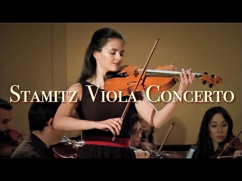 STAMITZ Viola Concerto in D Major, by Cristina Cordero (17 y/o)