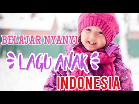 ANAK BULE (KW) BELAJAR NYANYI LAGU ANAK INDONESIA