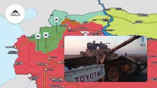 Обзор военных действий в Сирии. 4 января 2019г.