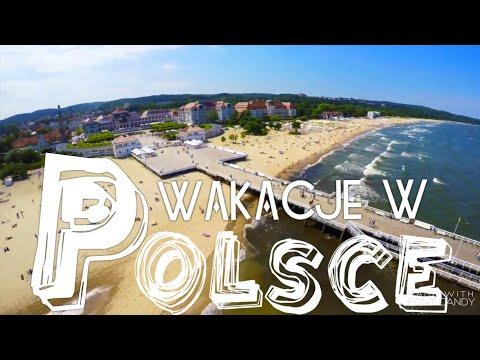 VACATION in Poland 2017 Sopot, Gdansk, Białystok Wakacje w Polsce