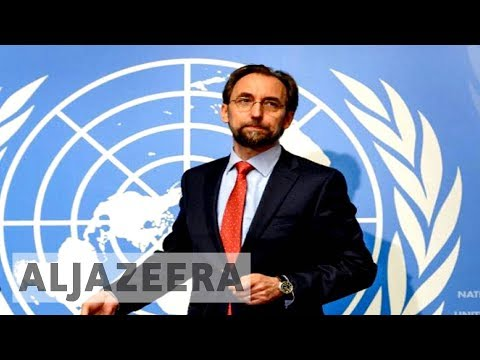 UN rights chief threatens to push for intervention over Myanmar's Rohingya crisis
