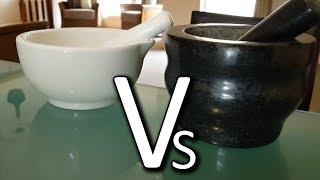 Granite Vs Porcelain Mortar and Pestle - Cole & Mason Review
