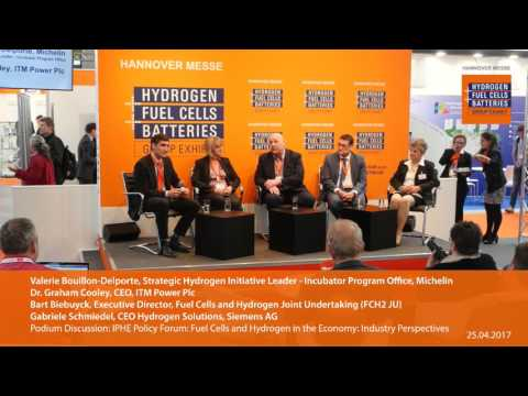 IPHE Policy Forum: Fuel Cells and Hydrogen in the Economy: Industry Perspectives