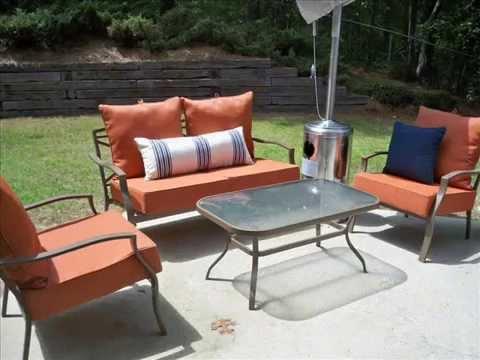 Garden Chair Cushions Sex Sofa I Covers Youtube