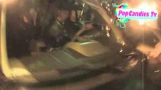 Paparazzi attacking Justin Bieber and Selena Gomez at Justins 17th Birthday