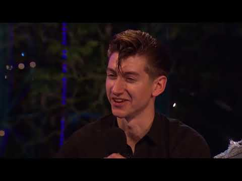 Alex Turner calling interviewers by their name