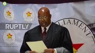 Zimbabwe  End of an era   Parliament erupts as Mugabe tenders resignation