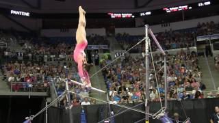 Aly Raisman - Uneven Bars - 2016 P&G Gymnastics Championships – Sr. Women Day 1