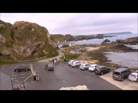 Ballintoy Harbour and it's Treacherous Coast