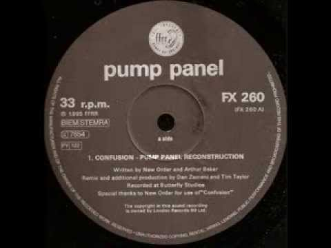 New Order - Confusion (Pump Panel Reconstruction Mix)