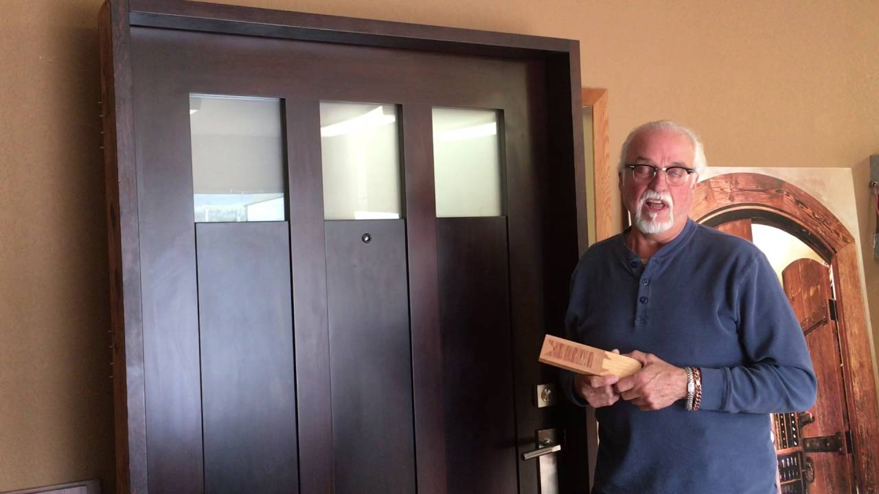How Much Does A Handcrafted Solid Wood Door Cost To Make?