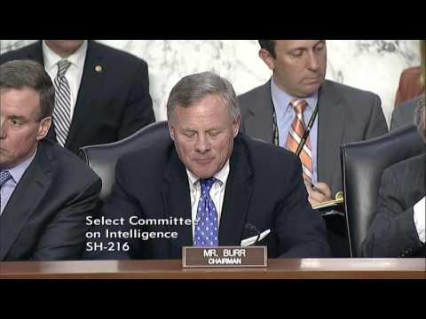Intel Chairman Burr Opening Remarks June 13, 2017
