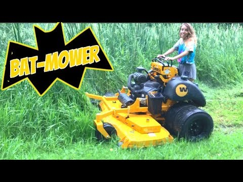 Lawn Mower review?!? Tested, Beat and Broke Wrights Dual Wheel Concept mower