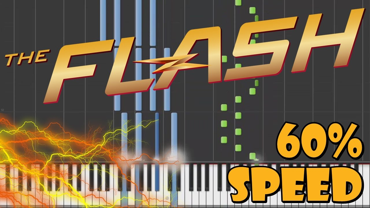 how to play the flash theme song on piano