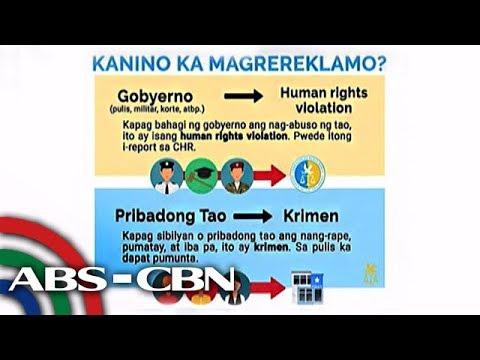 ALAMIN: Ano ang tungkulin ng CHR? | ABS-CBN News