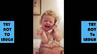 TRY NOT TO LAUGH | Cute Baby Videos | Funny Vines 2018