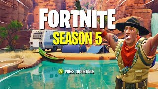 Fortnite SEASON 5 THEME LEAKED... (New Map Replacing Old Map)