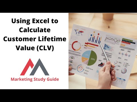 Using Excel to Calculate Customer Lifetime Value - YouTube