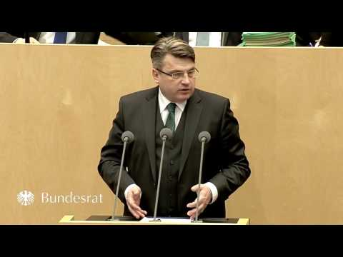 Staatsminister Prof. Dr. Winfried Bausback im Bundesrat am 10. März 2017 - Bayern