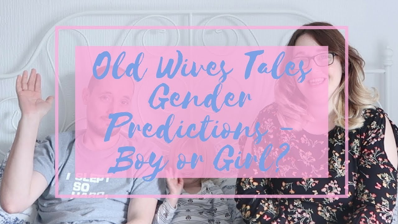 Old Wives Tales Gender Predictions - Baby Boy or Girl? - YouTube