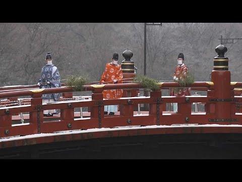 شاهد: كهنة يابانيون يحيون تقليد تنظيف جسر شينكيو المقدس…  - نشر قبل 2 ساعة