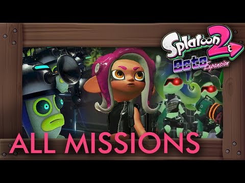 Splatoon 2 - Octo Expansion: All 84 Missions + Final Escape Levels