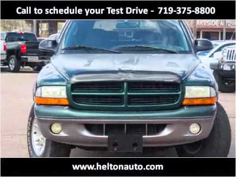 1998 Dodge Durango Used Cars Colorado Springs CO