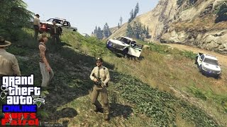 gta v lspdfr online multiplayer kuffs patrol 10   park ranger   pushing the f 150 to its limits