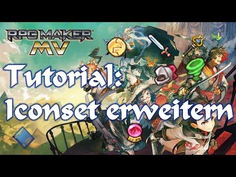 RPG Maker MV Tutorial: Iconset erweitern