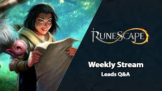 Leads Q&A | RuneScape Weekly Stream (May 2021)