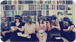 BOOKTUBER CHALLENGE | XL Blindfolded Book Challenge mit Malle, Helene, Nina, Jenny, Amelie und Laura