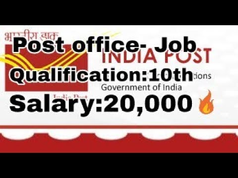 Tamilnadu post office jobs-2018