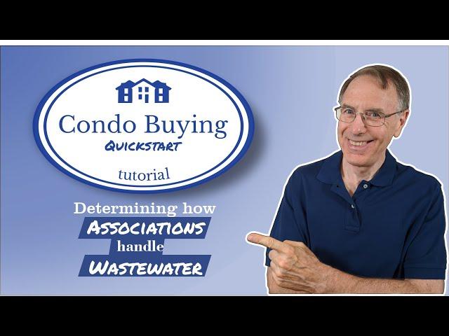 Condo Buyer Guide   waste water