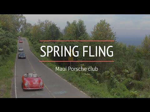 Maui  Porsche Club - Spring Fling