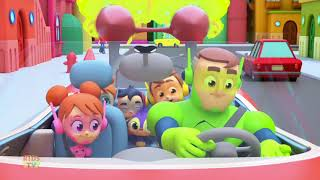 Daddy's Red Car | The Supremes Cartoons | Kids Songs & Baby Rhymes