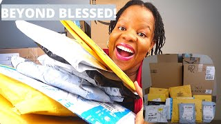HUGE Baby Shower HAUL | Unboxing HUGE Amazon Gifts